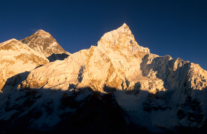 Himalaya, Mt. Everest und Nuptse